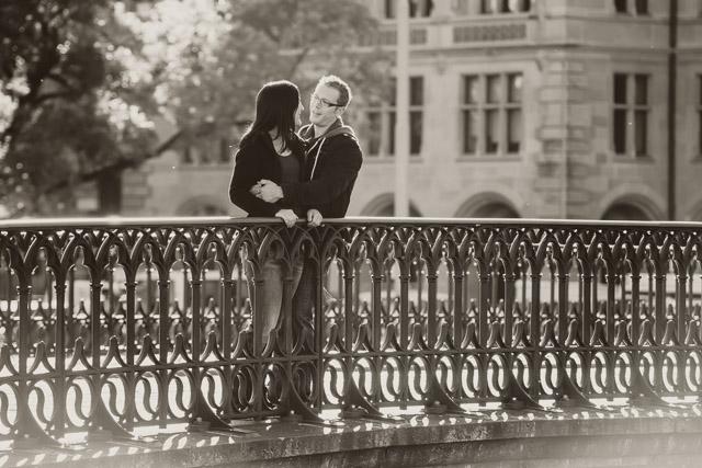 Pärchen Iris und Ramon vor Ihrer Hochzeit