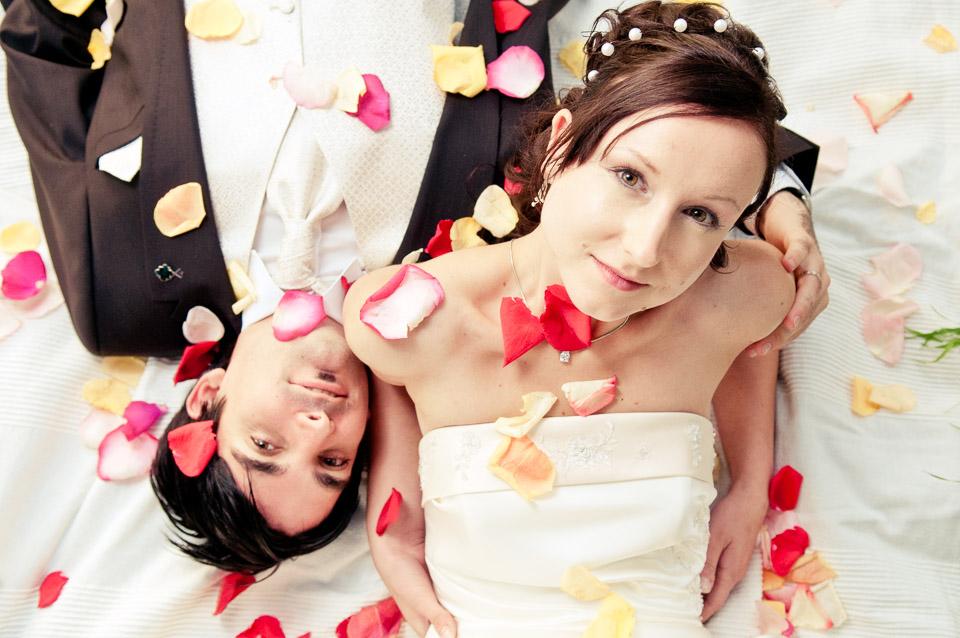 Hochzeitsfotos von Maria und Bruno