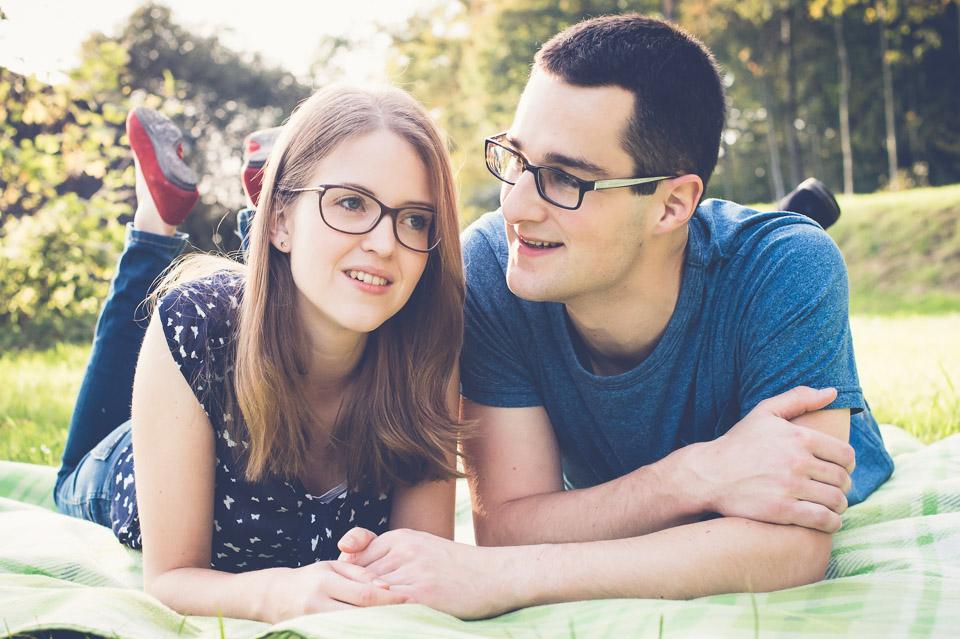 Foto-Shooting vor der Hochzeit mit Lisa und Silvan