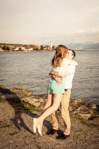 Pärchen Fotos am Zürichsee