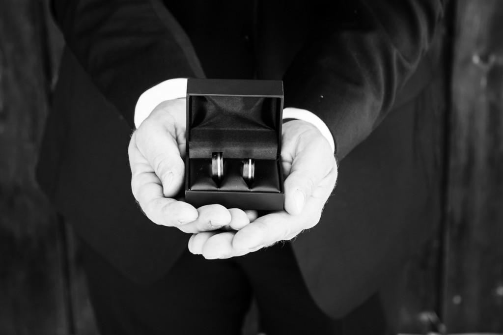 Eheringe Foto Hochzeit