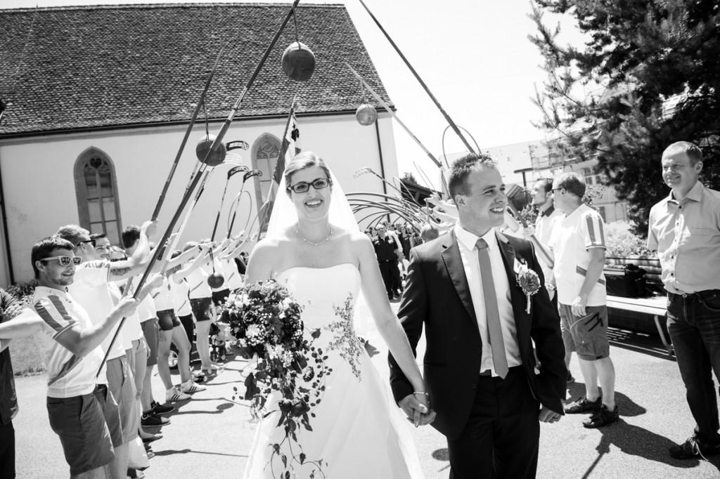 Fotos kirchliche Trauung Mettmenstetten