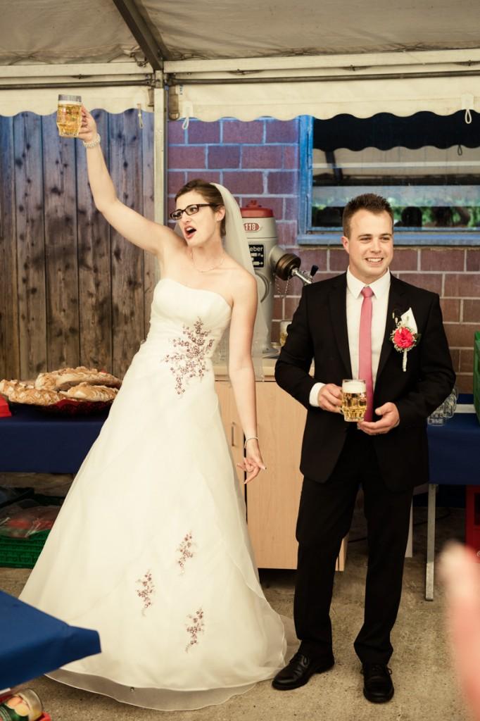 Fotos Hochzeit auf Bauernhof