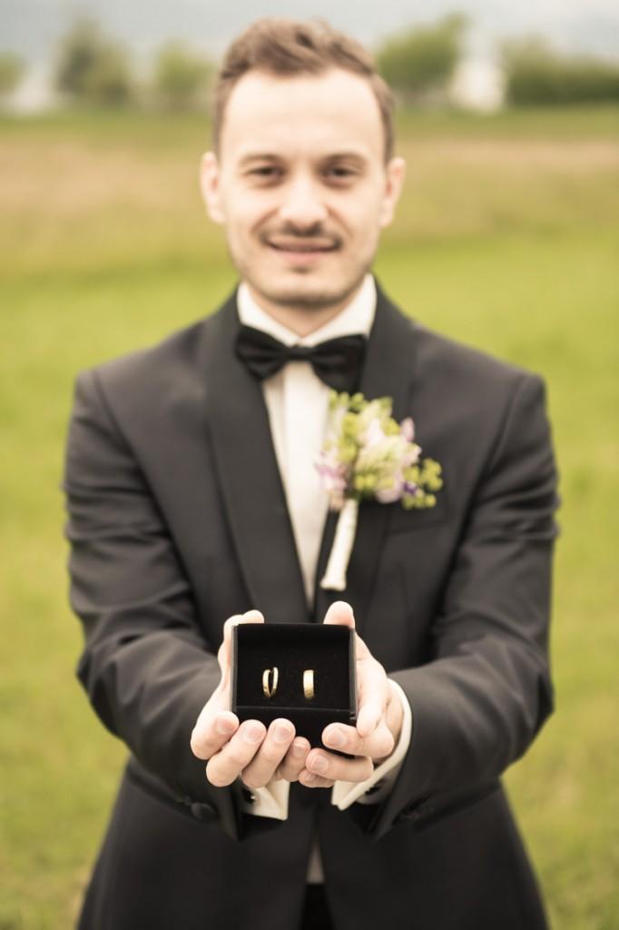 Fotos Eheringe bei Hochzeit