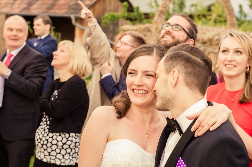 Hochzeitsfeier im Bächlihof