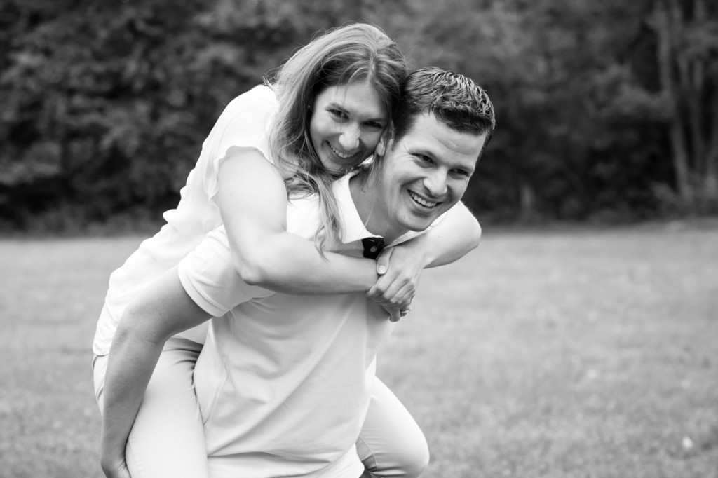 Fotoshooting vor Hochzeit