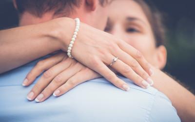 Foto-Shooting zur Verlobung von Karin und Christian