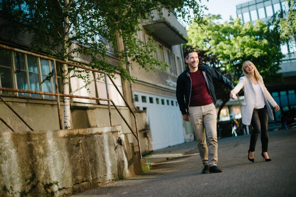 Zürich Fotoshooting zu zweit