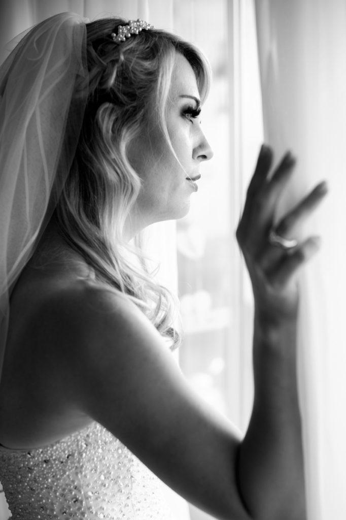 Vorbereitungen Hochzeit Braut