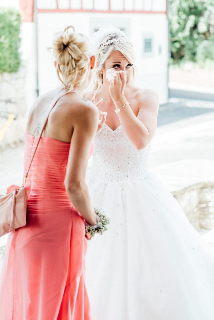 Emotionale Momente Hochzeit