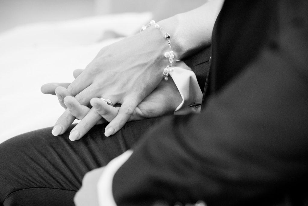 Hochzeit Details Trauung