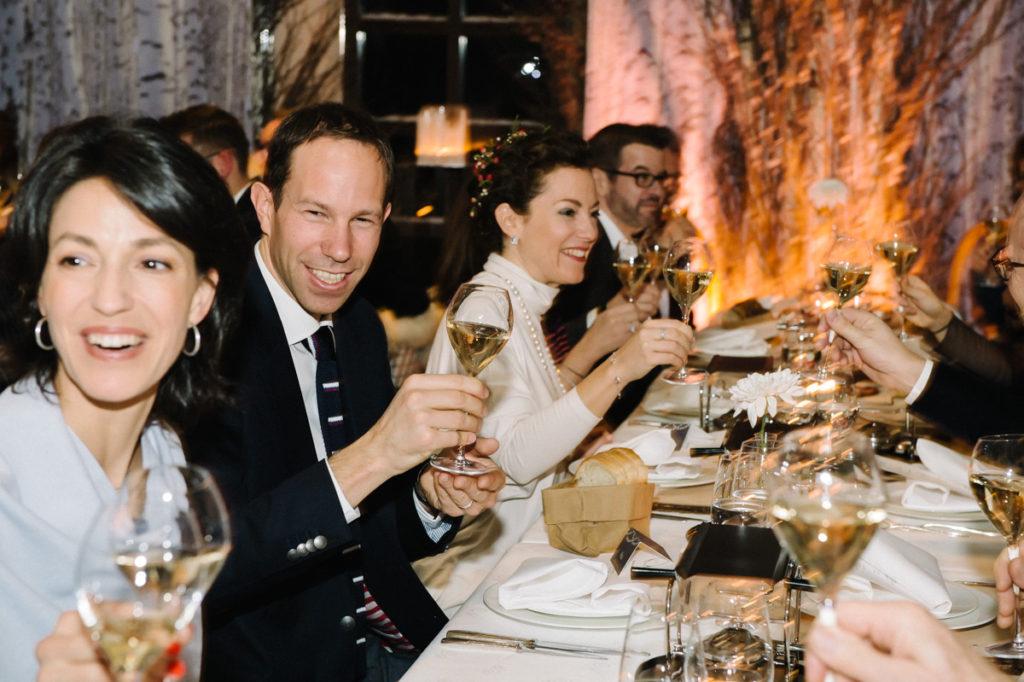 Hochzeit Dinner Raclette Widder Zürich