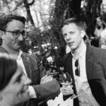 Hochzeitsgäste Apero