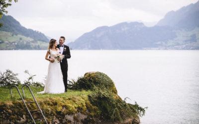 Die Hochzeit von Barbara und Dominic in Weggis