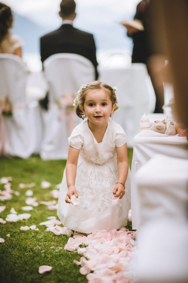 Hochzeitsfotos Trauung im Freien