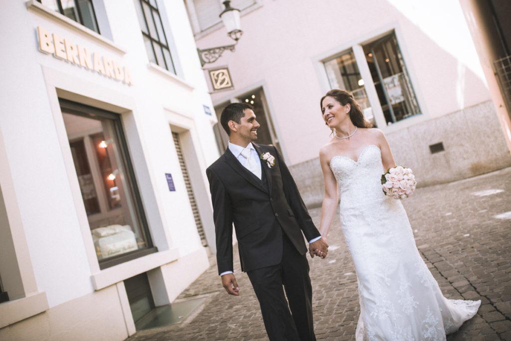 Fotos Brautpaar Zürich