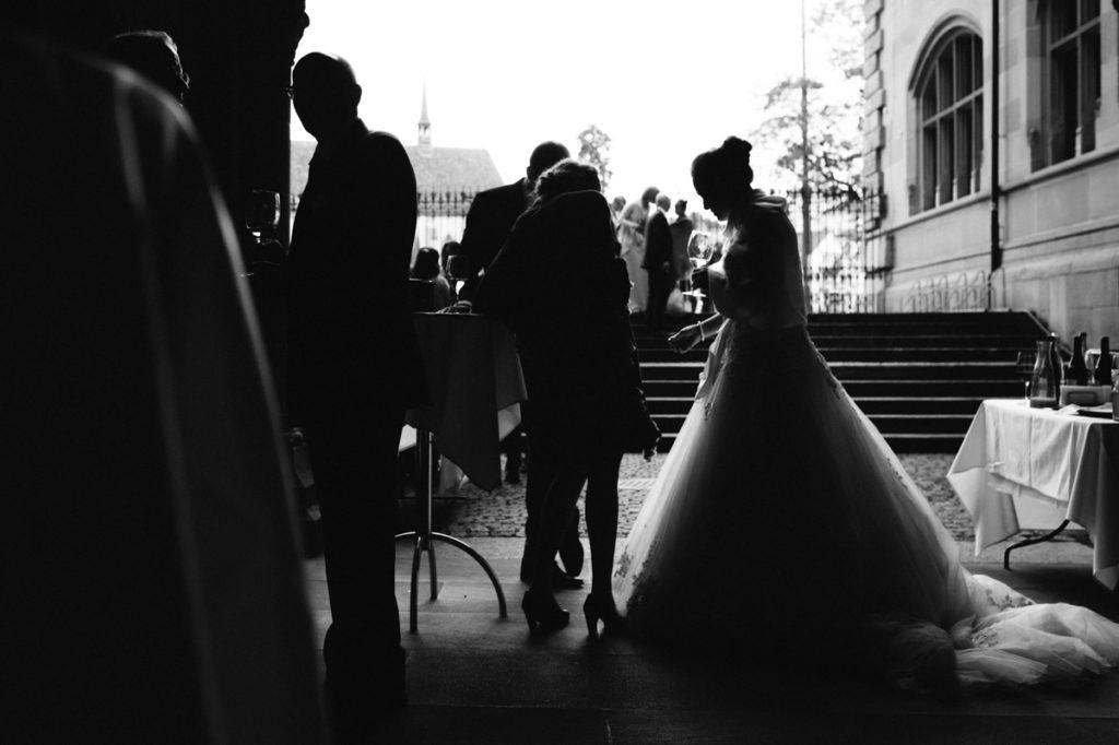 Hochzeitsapero Fraumünster Zürich