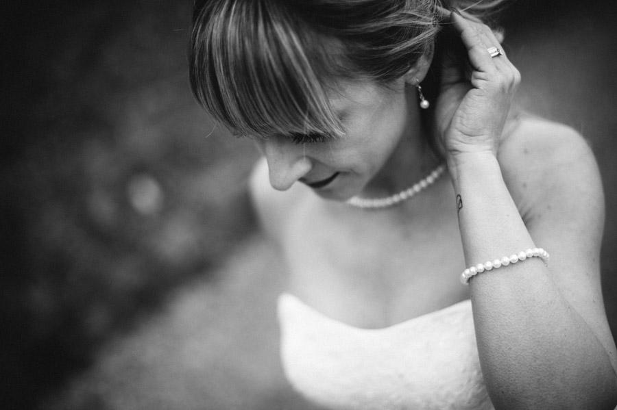 Detailfoto Braut