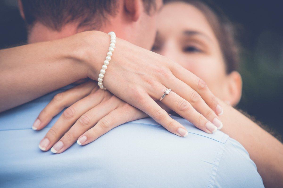 Fotoshooting Paar vor Hochzeit