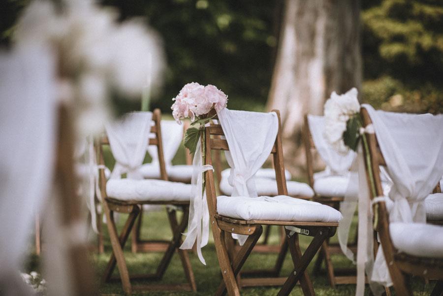 Hochzeit Trauung im Freien