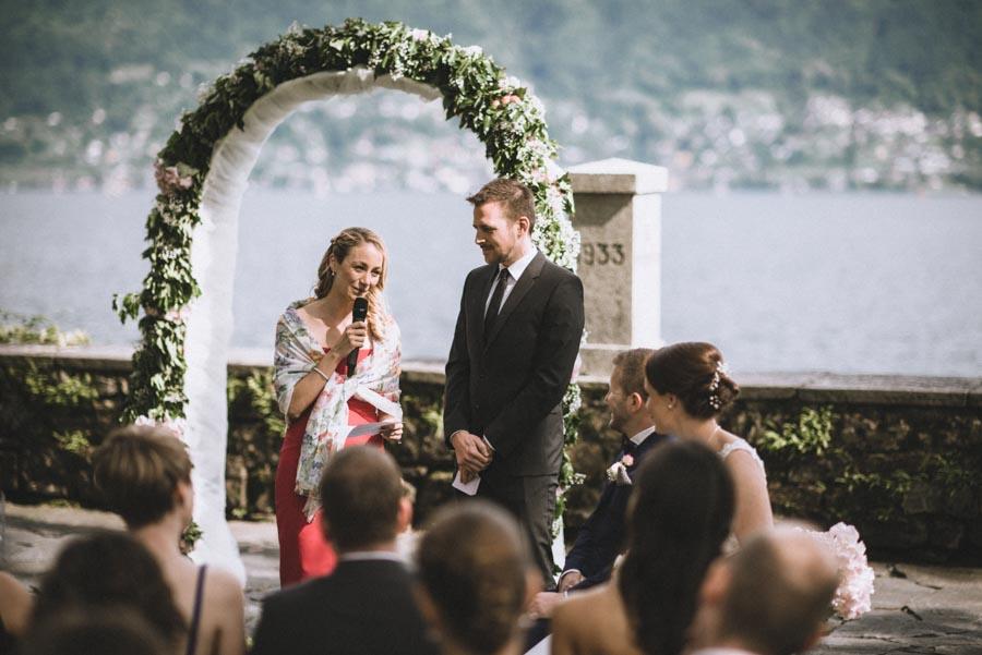 Hochzeit Zeremonie Isole di Brissago