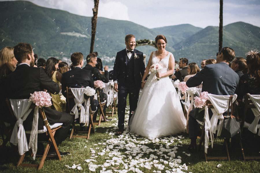 Hochzeitszeremonie Isole di Brissago