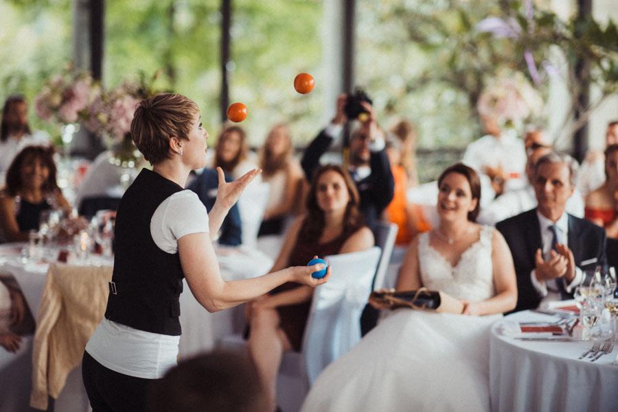 Vorführung Hochzeit