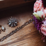 Schmuck und Blumen Hochzeit