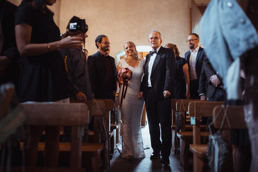 Einzug der Braut mit Brautvater