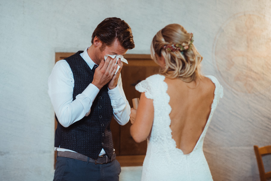 Hochzeit emotionale Fotos