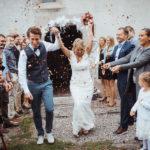 Hochzeit Blütenregen