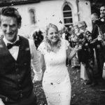 Auszug Brautpaar Hochzeit