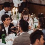 Hochzeitsgäste Dinner
