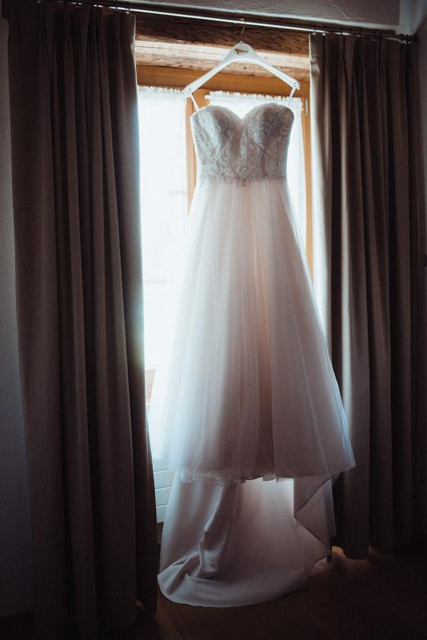 Hochzeitskleid Getting ready Fotos