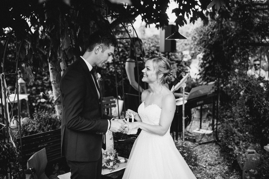 Freie Hochzeit Ringübergabe