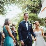 Frisch verheiratetes Ehepaar