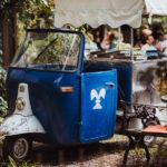 Glacewagen bei Hochzeit