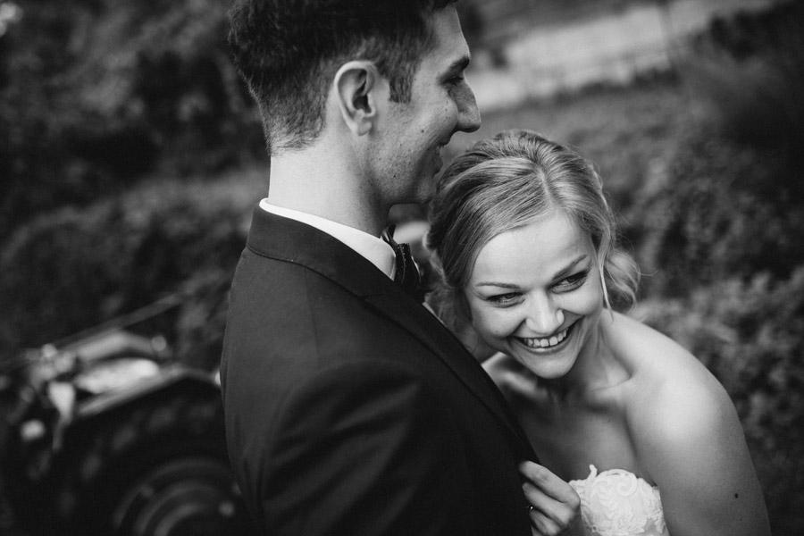 Glückliche Braut