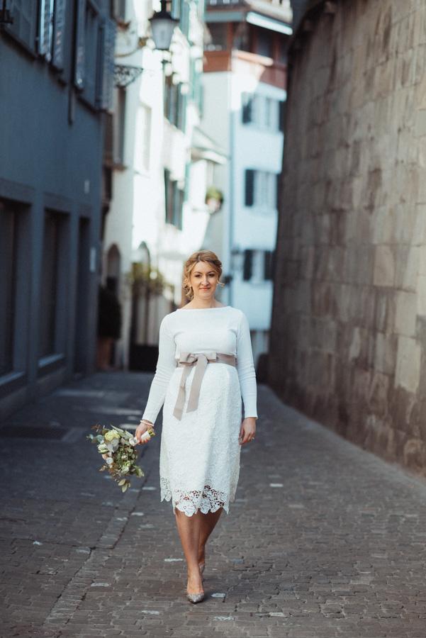 Fotoshooting Braut Zürich