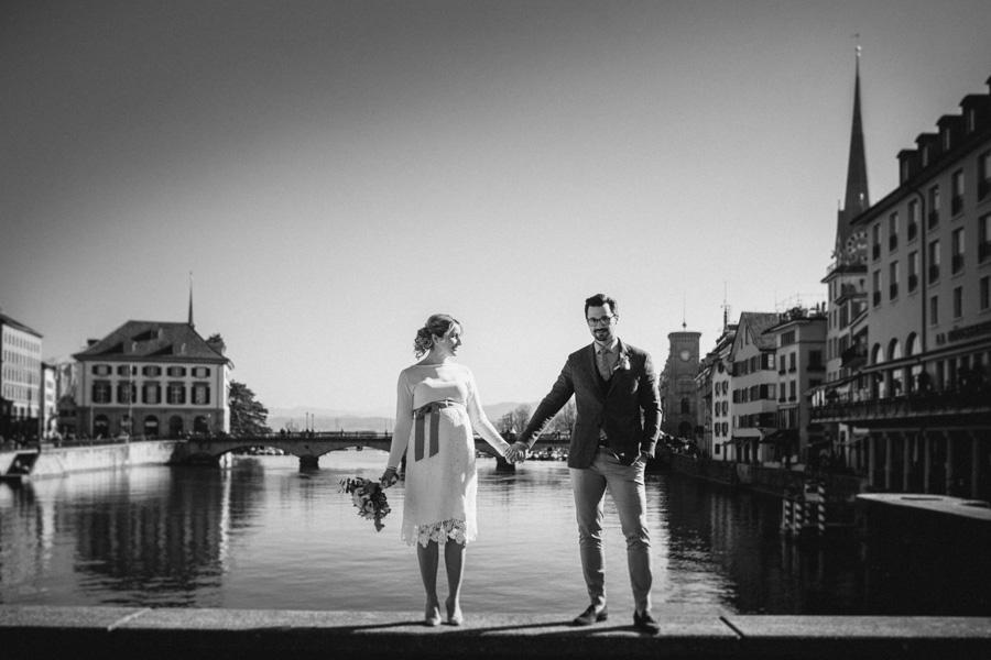 Hochzeitspaar Fotoshooting Zürich
