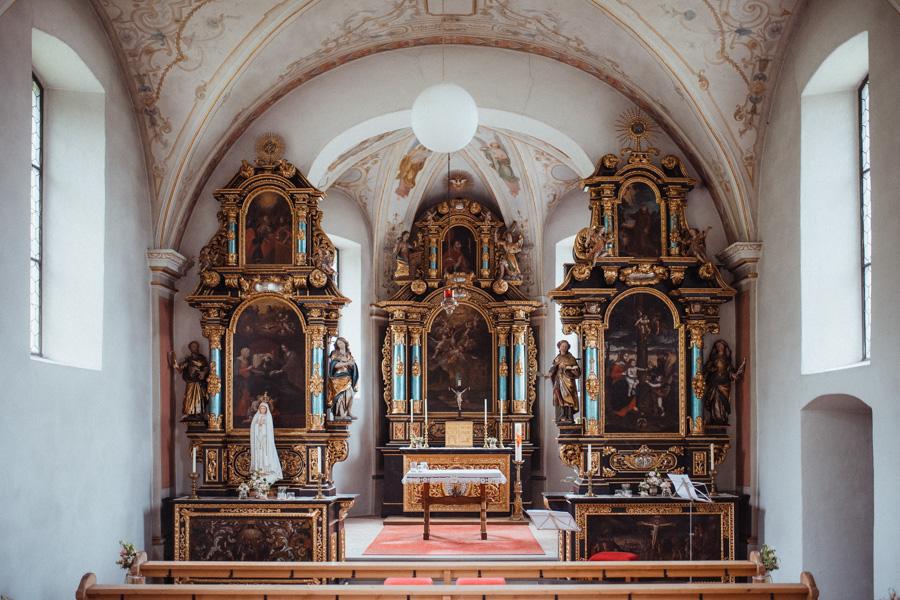 Hochzeit in der Josefskapelle Uznach