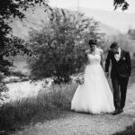 Spaziergang Hochzeit