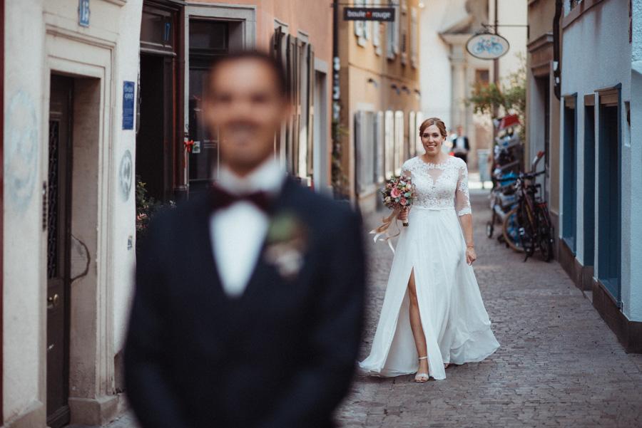 First Look Hochzeit Zürich