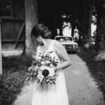 Erstes sehen bei Hochzeit
