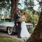 Fotoshooting Hochzeit mit Oldtimer