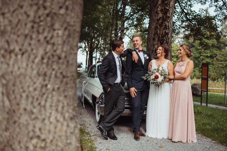 Braut Bräutigam Trauzeugen