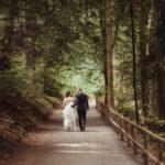 Fotoshooting Hochzeit Wald
