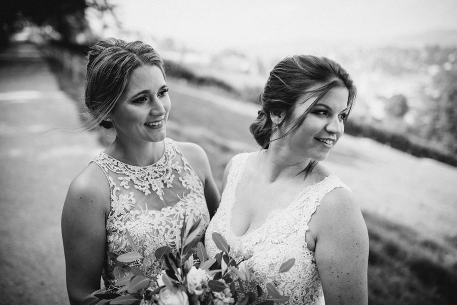 Braut Trauzeugin Hochzeit Fotograf