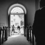 Einzug der Braut in Kirche