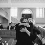 Brautmutter mit Bräutigam